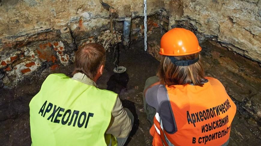 В центре Москвы археологи нашли артефакты возрастом более 400 лет