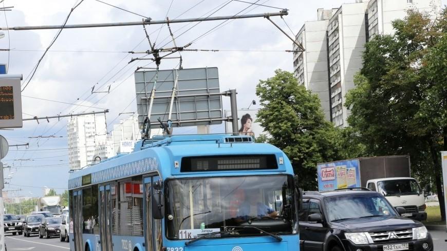 В Химках 9 мая запустят троллейбус по «Маршруту истории»