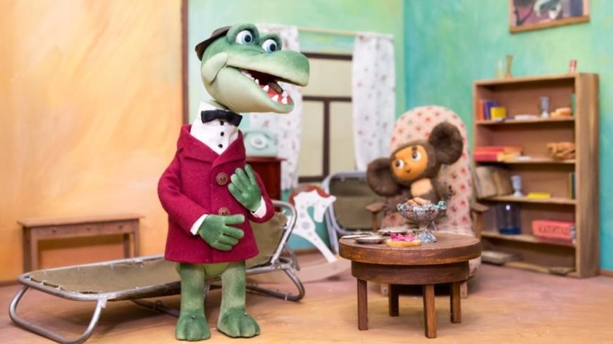 """Фото: Максим Кулачков, """"«МИР 24»"""":http://mir24.tv/, союзмультфильм, чебурашка, крокодил гена, мультфильм"""