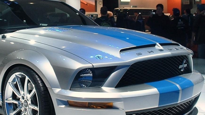 Ford обнародовал тизер нового Mustang Shelby GT-500