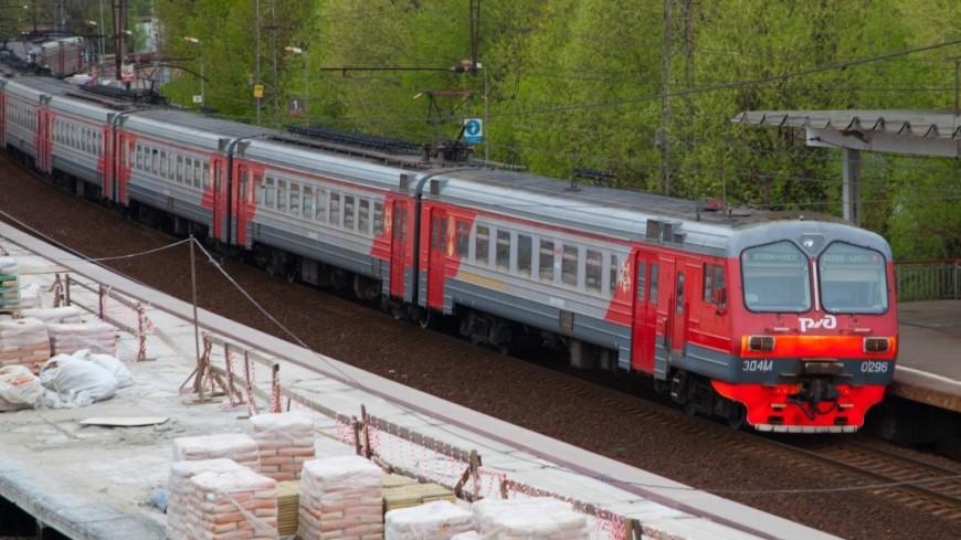 Московские электрички задерживаются на трех направлениях