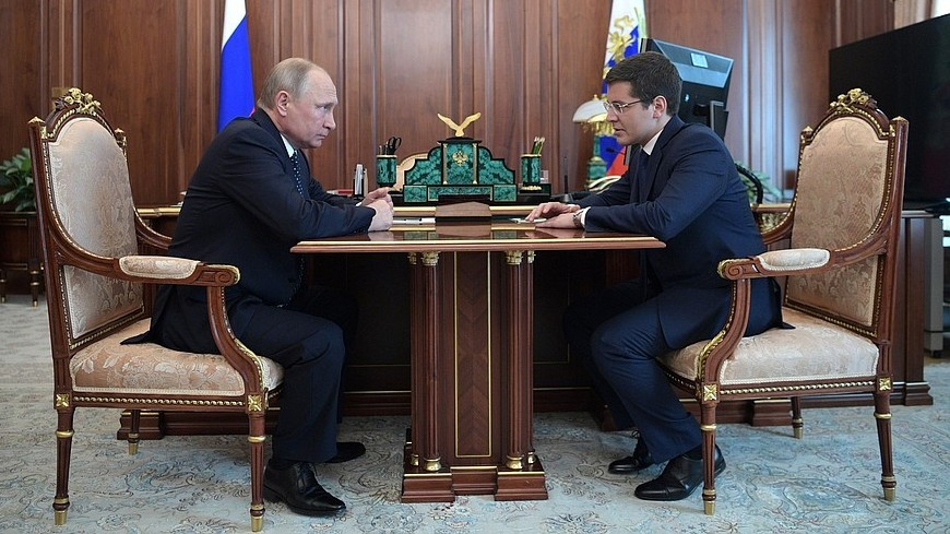 Путин назначил Дмитрия Артюхова врио главы ЯНАО