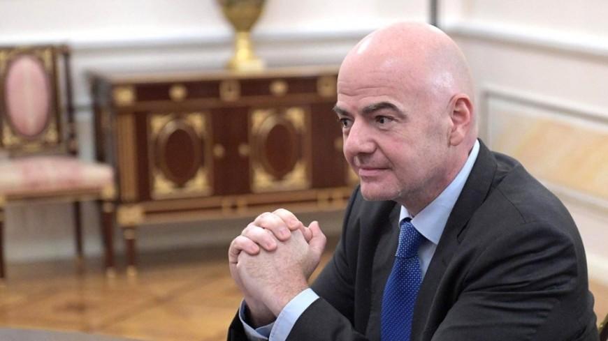 """Фото: """"Сайт президента РФ"""":http://kremlin.ru/, инфантино"""