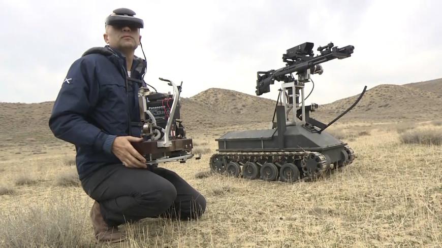 «Скорпион»: в Армении создали боевого робота