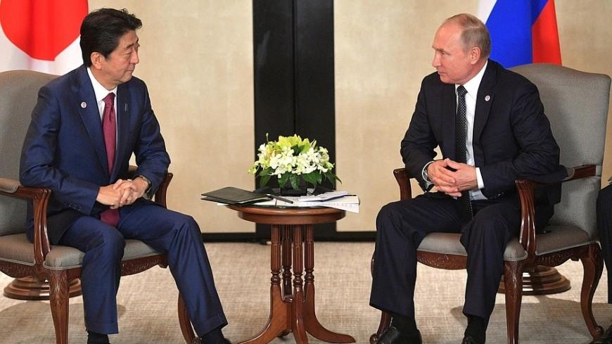 Песков: Путин и Абэ активизируют переговоры по мирному договору