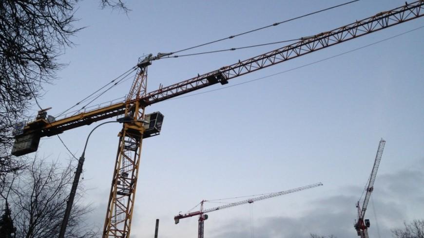 """Фото: Светлана Родина, """"«МИР 24»"""":http://mir24.tv/, строительные краны, стройка, кран, краны"""
