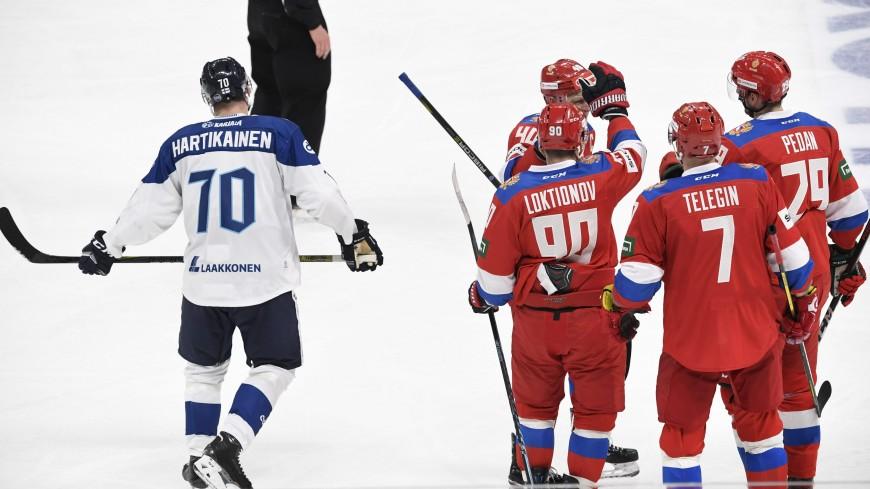Российские хоккеисты всухую обыграли финнов на Кубке Карьяла