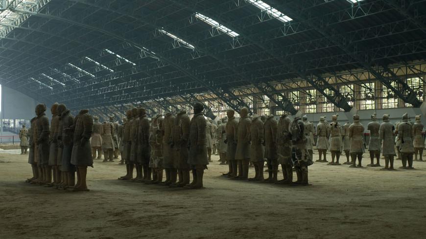 В Китае найдена терракотовая армия в миниатюре