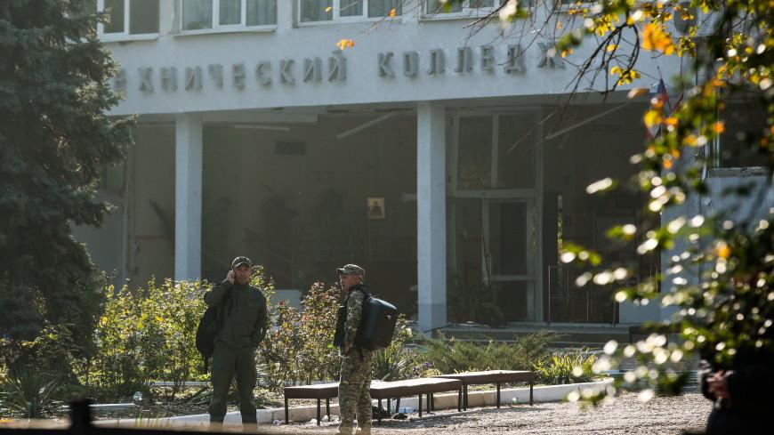 СКР: керченский стрелок действовал в одиночку