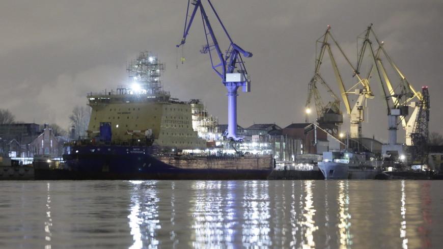 Ущерб от пожара на ледоколе «Виктор Черномырдин» оценили в 1,5 млн рублей
