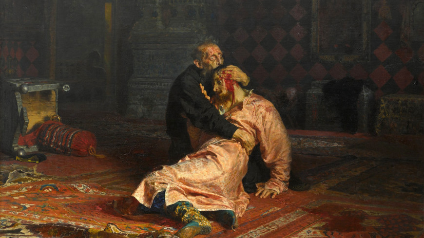 Повредивший картину Репина мужчина признан вменяемым