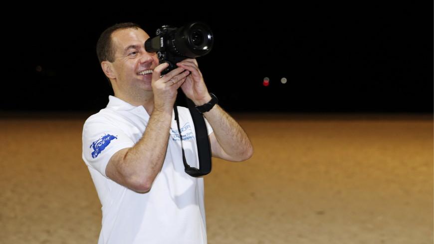 Медведев прогулялся по столице Папуа – Новой Гвинеи и сделал пару фото