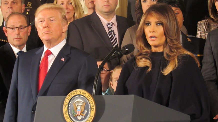 Трамп рассказал о тяжелой доле своей жены Меланьи