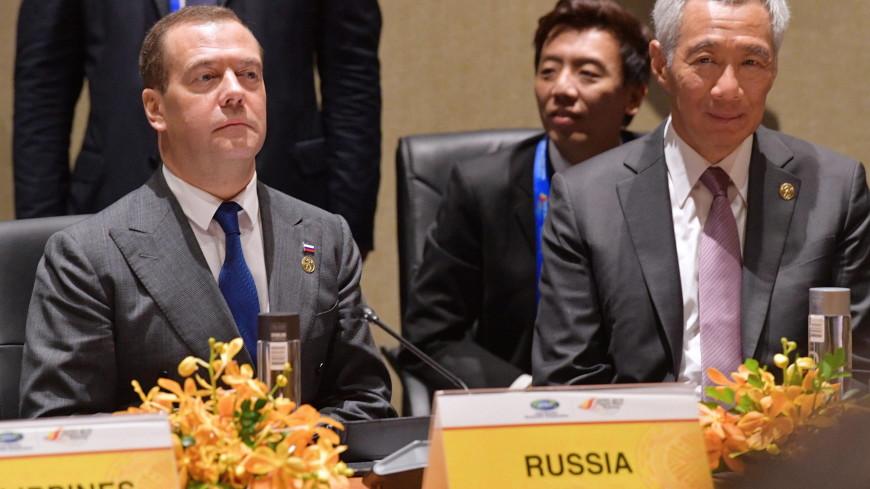 Медведев обсудил проблемы АТЭС с лидерами Японии, Таиланда, Филиппин и Канады