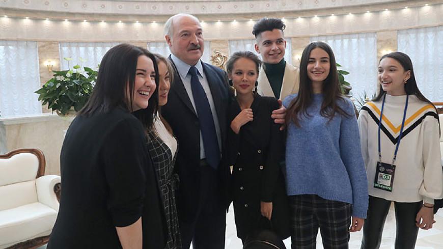 Слова поддержки: Лукашенко встретился с участниками детского «Евровидения»