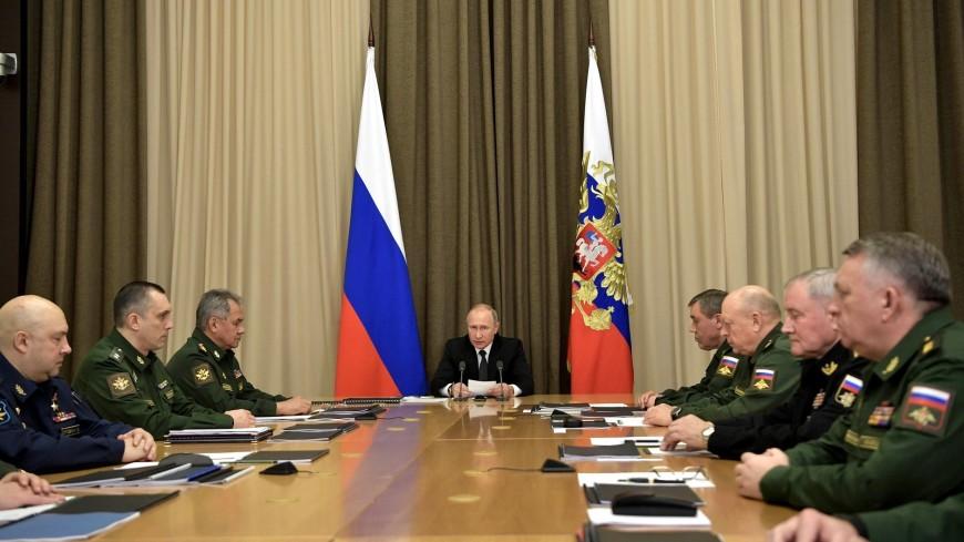 Путин призвал развивать практику внезапных проверок в армии