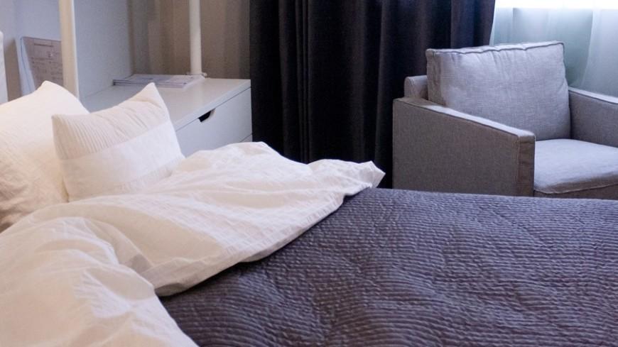 """Фото: Елена Андреева, """"«Мир24»"""":http://mir24.tv/, постель, кровать, гостиница, отель, сон"""