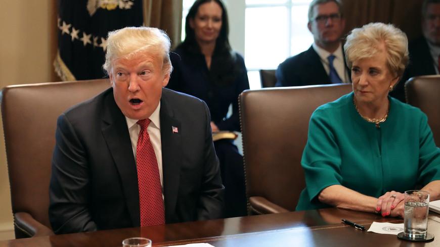 Трамп поставит руководить торговлей США экс-главу лиги рестлинга