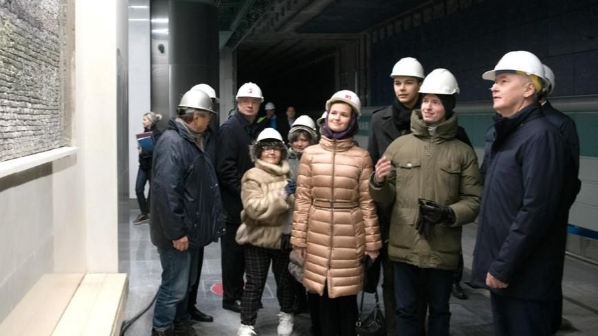 Собянин рассказал о дате запуска станции «Беломорская»