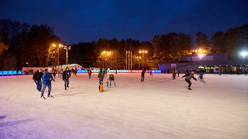 «Фабрика счастливых людей»: в Парке Горького откроется каток-рекордсмен