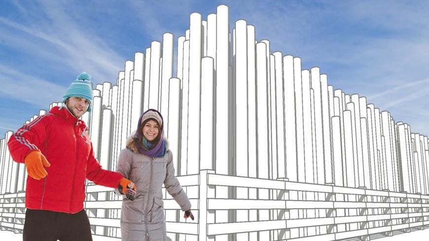 Цеха и фабричные трубы: каток в Парке Горького оформят в индустриальном стиле