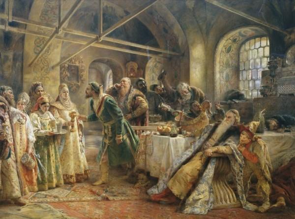 История пьянства от Ивана Грозного до Ленина
