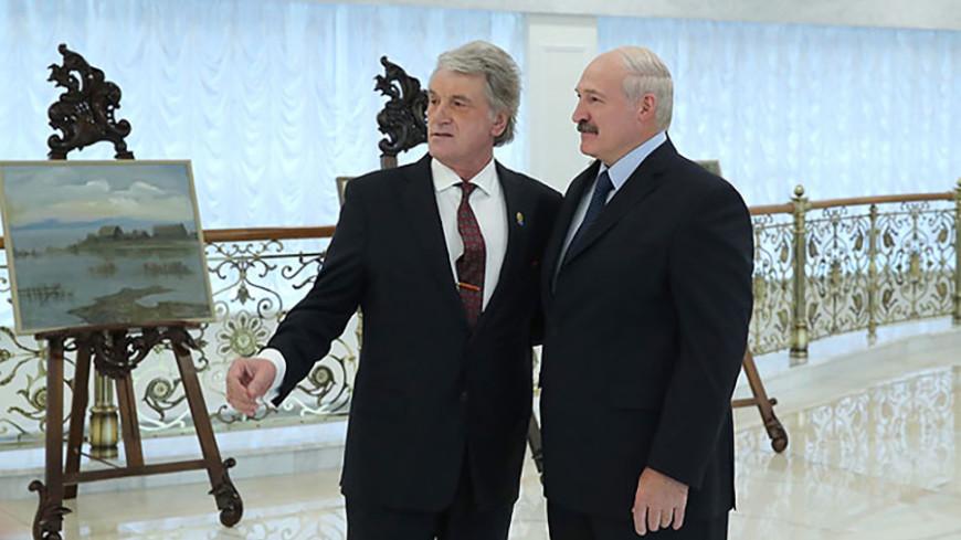 Лукашенко и Ющенко обсудили отношения Беларуси и Украины