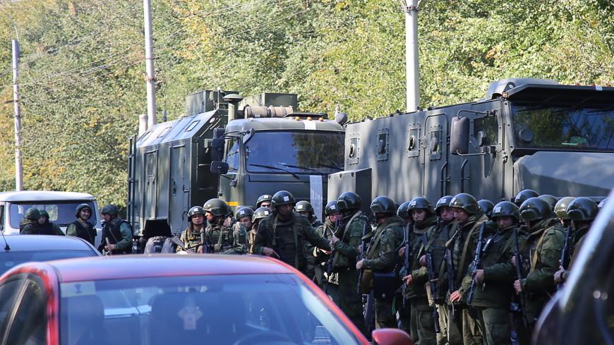 После взрыва в Керчи в Крыму усилены меры безопасности