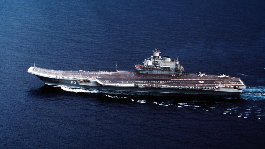 Ушел под воду: в Мурманске затонул плавдок крейсера «Адмирал Кузнецов»