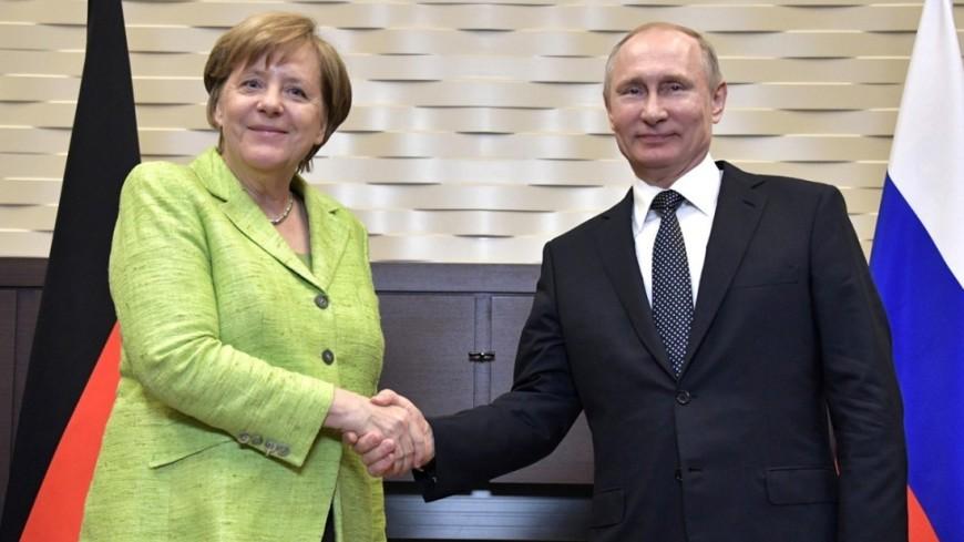 """Фото: """"Сайт президента РФ"""":http://kremlin.ru/, путин и меркель, путин, меркель"""