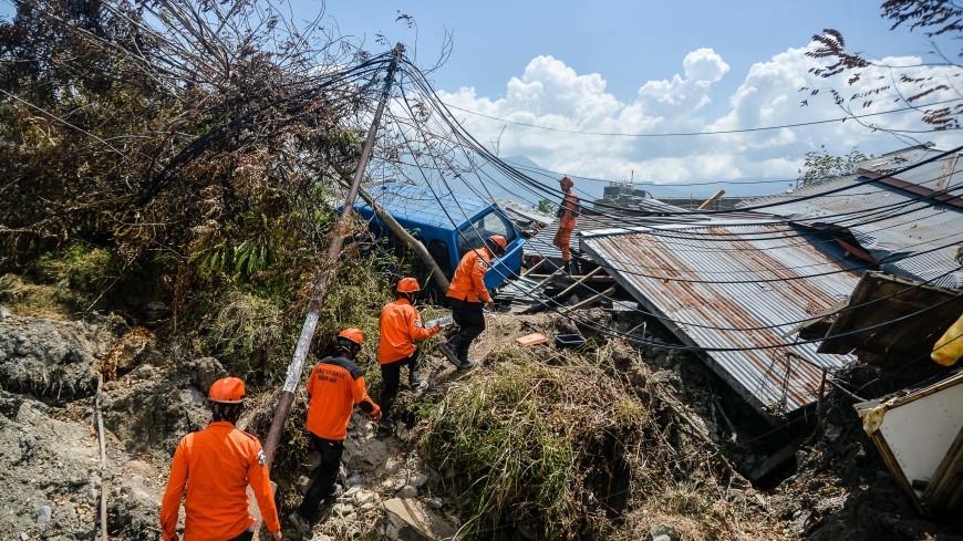 Число жертв землетрясения в Индонезии превысило 1,4 тыс. человек