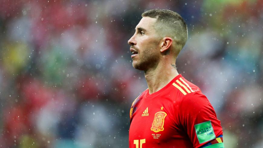 Капитан «Реала» Рамос дважды ударил мячом молодого одноклубника