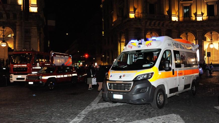 Причиной аварии в римском метро назвали прыжок фанатов ЦСКА на эскалатор