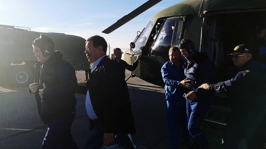 Космонавтам с «Союза» не понадобится лечения  медикаментами после аварии