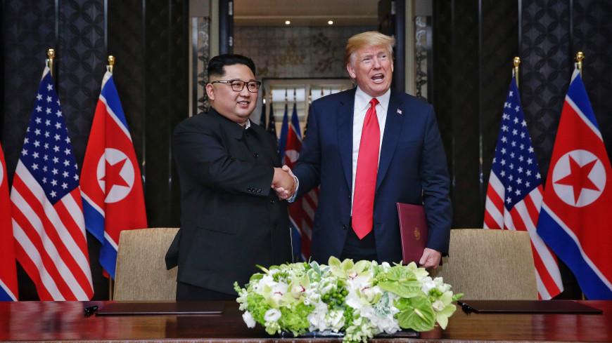 К саммиту готовы: в США отчеканили памятные жетоны в честь встречи Трампа и Ким Чен Ына