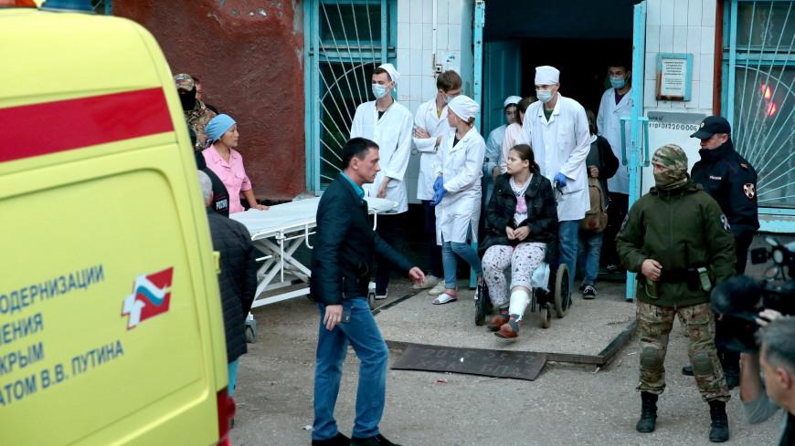 Ранеными в Керчи занимаются лучшие хирурги и реаниматологи России