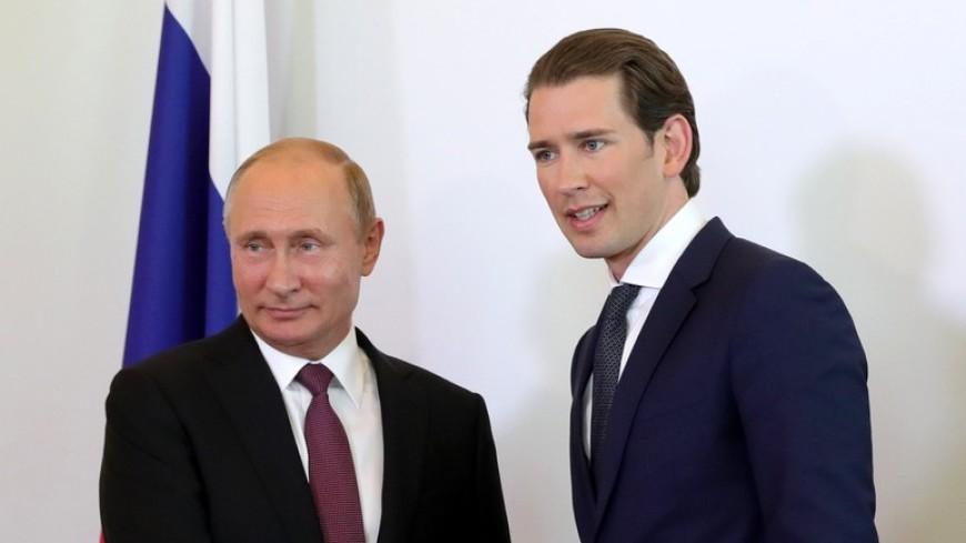 Путин вместе с премьером Австрии посетит открытие выставки в Эрмитаже