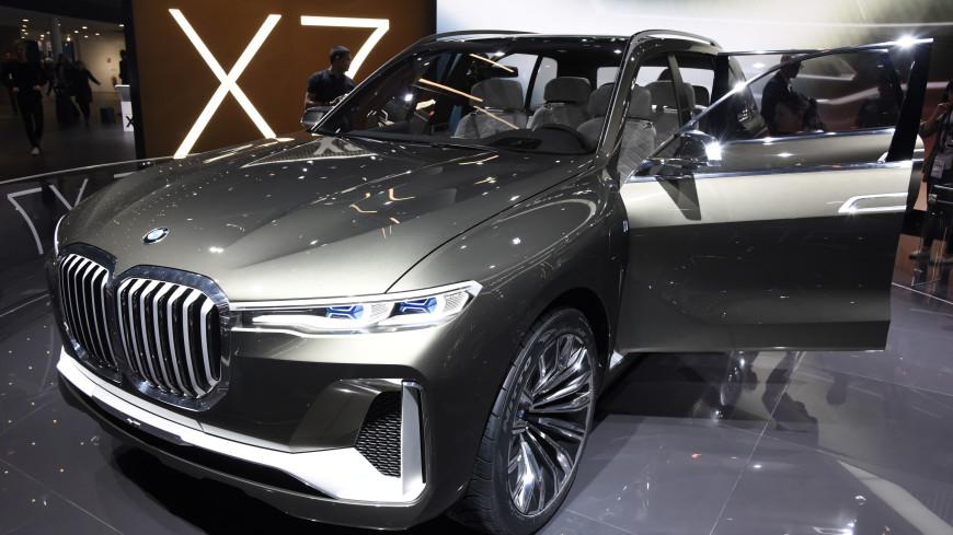 BMW презентовала семиместный кроссовер X7