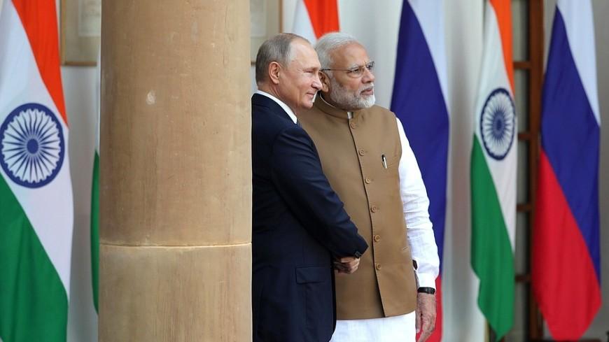 Путин и Моди приветствовали заключение контракта на поставку в Индию С-400