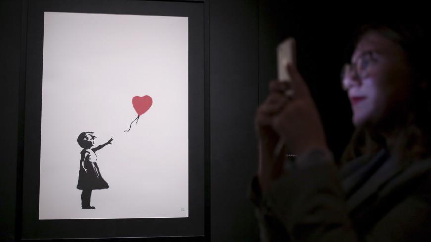 Бэнкси раскрыл план уничтожения картины «Девочка с шаром»