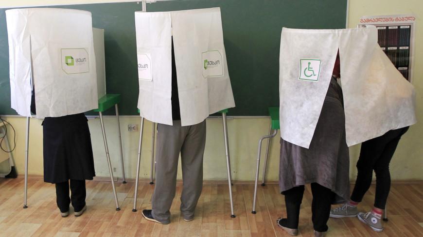 На выборах президента Грузии проголосовали более 30% избирателей