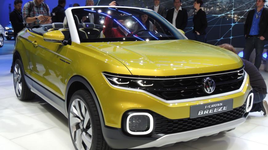 Volkswagen T-Cross оснастят новейшим комплексом безопасности