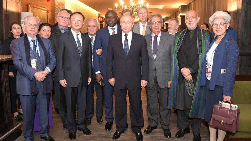 Путин выпил чая с участниками «Валдая»