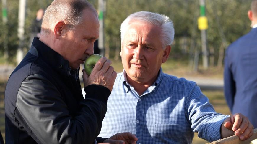 Путин пообещал дальнейшую господдержку села