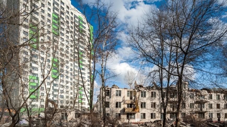 Переехать по реновации в Москве согласилась первая тысяча семей