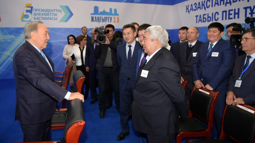 Ставка на цифровизацию: Назарбаев посетил индустриальную зону «Актобе»