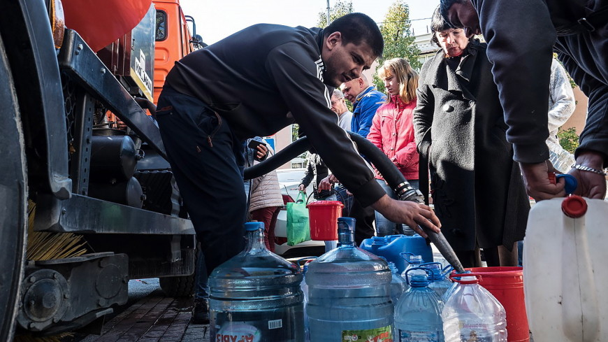 На Кубани истекает запас питьевой воды