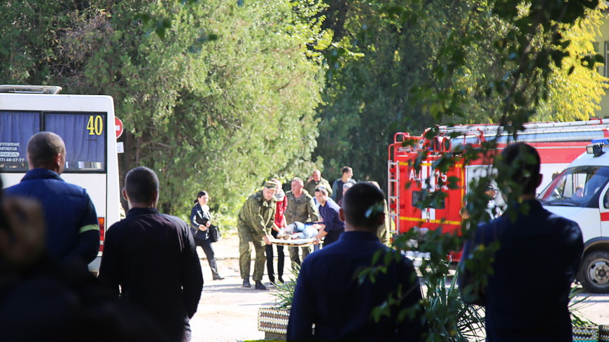 Взрыв в керченском колледже устроил студент, он покончил с собой