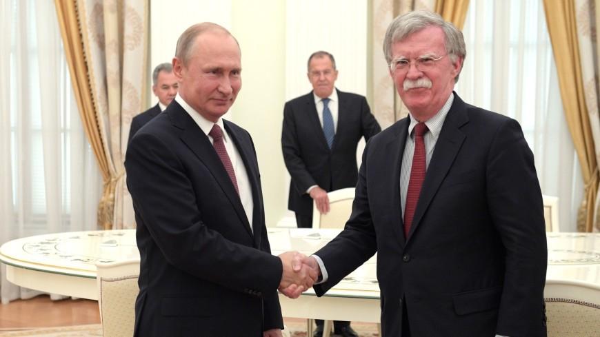 Путин примет советника президента США по нацбезопасности 23 октября