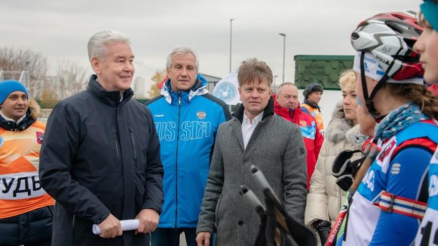 «Один из лучших»: Собянин открыл благоустроенный парк 850-летия Москвы